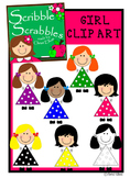 GIRL CLIP ART for personal and commercial use