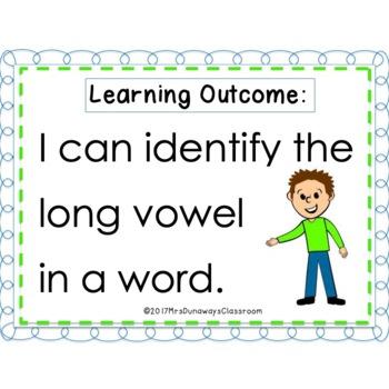 CLIP CARDS: Long Vowel Sound