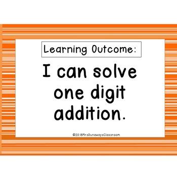 CLIP CARDS: MATH ADDITION PIE