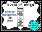 CLIP CHART Behavior Management System, EDITABLE {Blackline