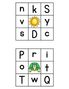 CLIP IT-Beginning Letters (Part of Beginning Sounds and Letters Bundle)