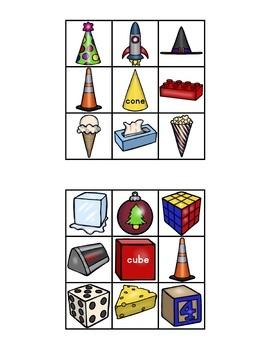 CLIP IT CARDS Math Bundle (Numbers 1-10, 2D Shapes, 3D Shapes)