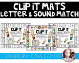 CLIP IT MATS: Letter Recognition and Letter Sounds