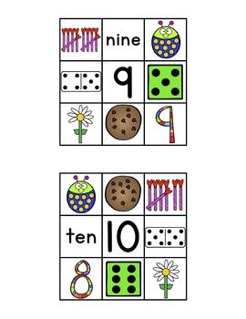 "CLIP IT CARDS-Numbers 1-10 *Part of ""Clip It Cards Math Bundle"""