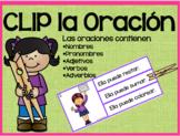 CLIP LA ORACIÓN ~Kindergarten~