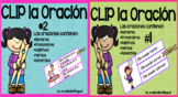 CLIP la ORACIÓN #1 and #2 BUNDLE