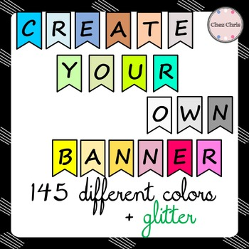 CLIPART: Create your own banner ! 154 clipart