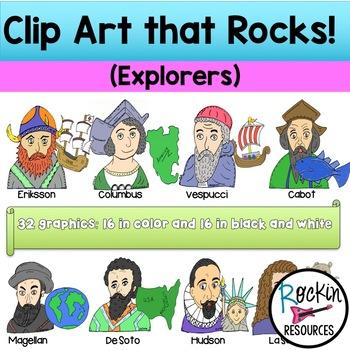 EXPLORERS- CLIPART THAT ROCKS!