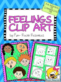 CLIPART - FEELINGS