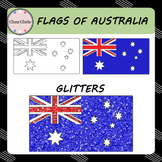 Clip Art - Flags of Australia FREEBIE