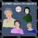 Clip Art - Queen Elizabeth II