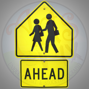 CLIPART STOCK PHOTOS - Road & Traffic SIGNS - Photographs - PNG - BUNDLE