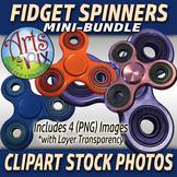 "CLIPART Stock Photos - ""Fidget Spinners"" Mini-Bundle - Clipart - Photographs"
