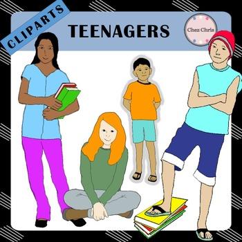 Clip Art -  Tweens and Teenagers