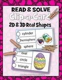 CLIPCARDS-READ-SOLVE-2D 3D SHAPES