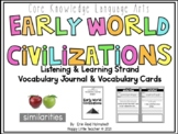 CLKA 1st Grade Listening and Learning Domain 4 Vocabulary Journal