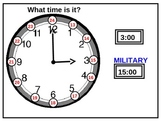 Clock: Convert Time to Military Time (animated)