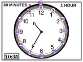 Clock: What Time is it? Elasped Time Practice