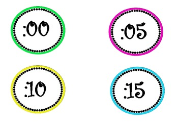 CLOCK LABELS