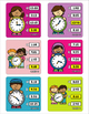 Clock Time Telling 50 Task Cards - With Recording Sheet