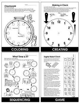 CLOCK WORK Gr. 2-4