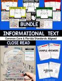 Close Read-Informational Text {Bundle}