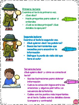 CLOSE READING IN SPANISH