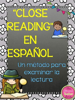 CLOSE READING IN SPANISH