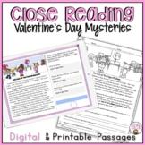 Valentine's Day Reading Comprehension Passages | Valentine