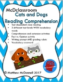 CLOSE READING Text Dependent Questions - Cats and Dogs