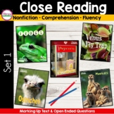 CLOSE READING for TEXT EVIDENCE  {Unit 1 }