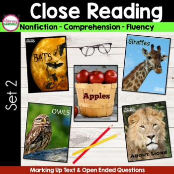 CLOSE READING for TEXT EVIDENCE {Unit 2 }