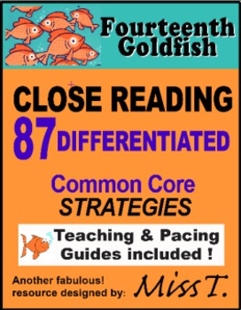 CLOSE READING to use with Fourteenth Goldfish by Jennifer Holm