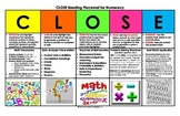CLOSE Reading for Numeracy
