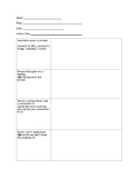 CLOSE Reading for Online Sources Graphic Organizer