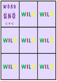 CLOSED SYLLABLE CVC UNO CARD GAME