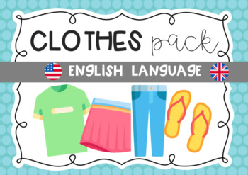 CLOTHES English Pack ESL