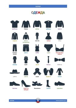 CLOTHES - Russian Vocabulary