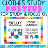 Creative Curriculum Teaching Strategies GOLD | CLOTHES STU