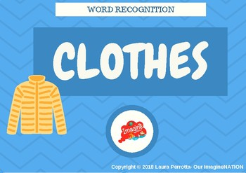 CLOTHES- Literacy