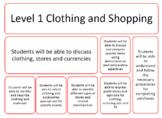 CLOTHING AND SHOPPING (SPANISH)