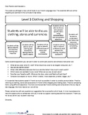 CLOTHING AND SHOPPING UNIT COMMUNICATION (FRENCH)