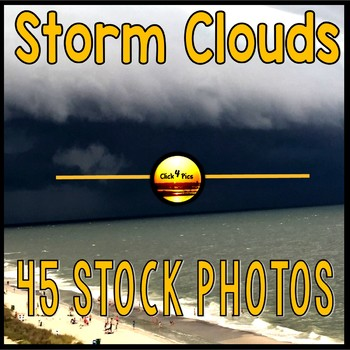 Cumulonimbus Clouds Stock Photos for Commercial Use