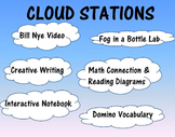 SCIENCE STATIONS - CLOUDS - Cumulus, Cirrus, Stratus - GREAT FOR OBSERVATIONS!