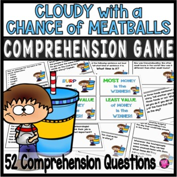 CLOUDY WITH A CHANCE OF MEATBALLS TEXT to SELF WHOLE GROUP