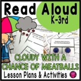 Cloudy with a Chance of Meatballs TALL TALES Unit and Activities