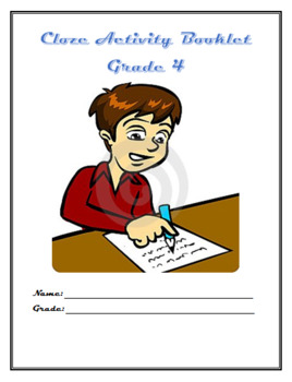 CLOZE ACTIVITY BOOKLET GRADE 4