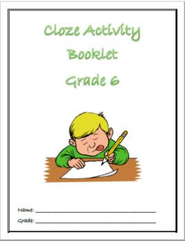 CLOZE ACTIVITY BOOKLET GRADE 6
