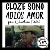 "CLOZE SONG// ""Adiós amor"" by Christian Nodal"