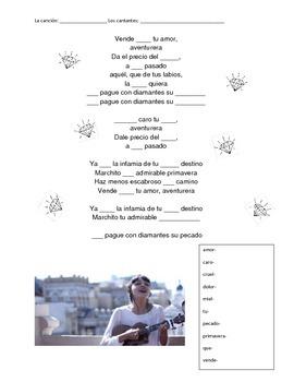 CLOZE SONG// Aventurera- Natalia Lafourcade